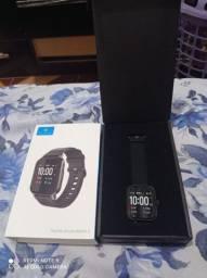 Smartwatch Haylou xiaomi + fone bluetooth xiaomi Haylou