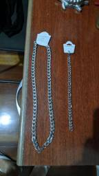 Colar e pulseira