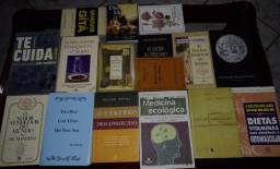 Título do anúncio: Livros católicos, espíritas,espiritualismo geral e medicina natural