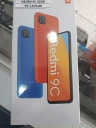 Redmi 9 c novo sem uso com garantia