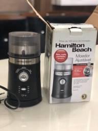 Moedor De Café Hamilton Beach Elétrico Em Inox Automático