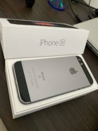 Raridade iPhone SE 128gb (perfeito estado)