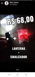 Kit lanterna + sinalizador(retirar Produto)