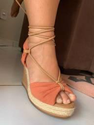 Sandália Mania de couro