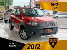 Título do anúncio: Fiat uno way 2012 completo