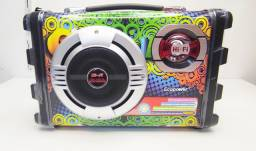 CAIXA DE SOM ECOPOWER EP-2220 BLUETOOTH USB AUXILIAR CARTÃO<br><br>