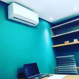 Instalação de ar condicionado!