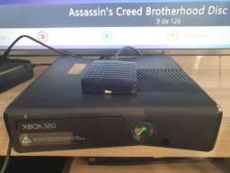 Xbox 360 slim destravado com kinect