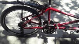 Bicicleta com dois assentos