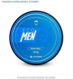 Pomada Eco Men Para Modelar Penteado Efeito Seco