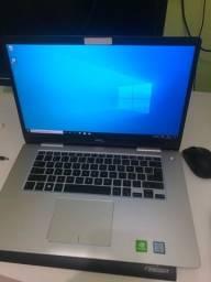 Notebook Dell Inspiron 15? I7 8geração 8GB DDR4 SSD 120GB HD 1TB Placa de Vídeo Dedicada