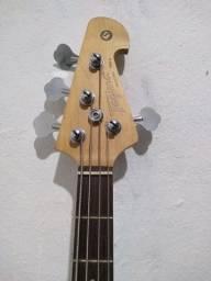 Baixo Tagima TBM 4 ativo modelo music Man troco por violão ou ps4