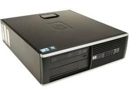 Computador completo HP Intel core 2 duo e8400 3.0 aceito cartão