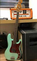 Baixo Precision 4c Squier Korea 1994/ By Fender