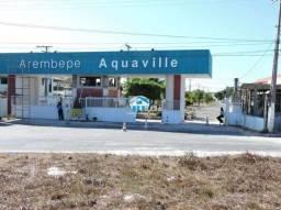 Lote à venda no Condomínio Arembepe Aquaville em Arembepe, (camaçari) cod:28
