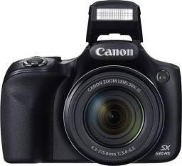 Canon PowerShot SX530 Em perfeito estado, aceito cartão
