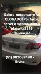 Carro clonado - denuncie - 2014