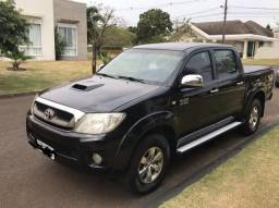 Toyota Hilux 2009 completa câmbio automático - 2009