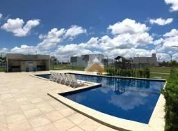Terreno em condomínio de alto padrão (9x20-180m²) com ótima estrutura para lazer em Rio La