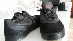 Tênis Nike SB Paul Rodriguez 9 Elite Flash Skate - Preto / Preto-Carmesim