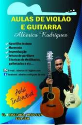 Aulas de guitarra e violão e ( Teclado para iniciante)