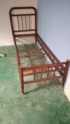 Vendo cama patente de mola antiga