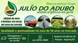 Adubos Orgânicos para plantaçoes em geral