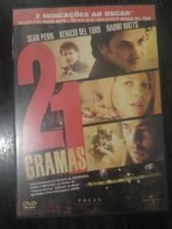 Dvd - 21 Gramas - R$ 10