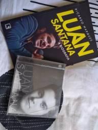 Biografia Luan Santana e Cd com 4 músicas