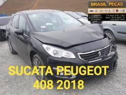 Peugeot 408 2018 Para Venda de Peças