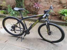 Bicicleta OGGI hacker HDS, TM 19, freio hidráulicos, 2020 novíssima**DUVIDO IGUAL!**