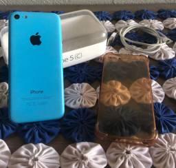 Iphone 5C desbloqueado ( ACEITO CARTÃO )