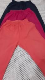 Kit calças de moletom infantil