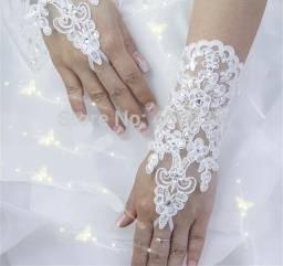 Luva Punho Renda noivas