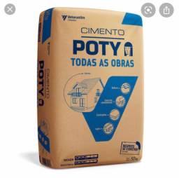 10 sacos de cimento poty