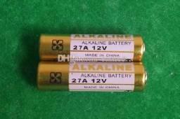 Pilha 12v 27a mini bateria Controle Portão Alarme