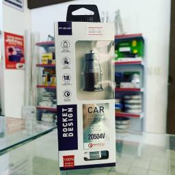 Carregador Veicular Micro USB - Turbo 18w