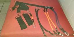 Kit Elásticos Extensores - 6 Níveis Força