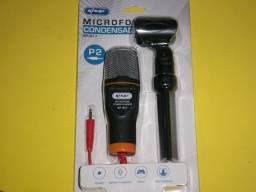 Microfone condensador Knup P2