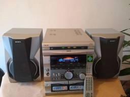 Som da Sony GRX 55 1700w - 85 RMS por canal