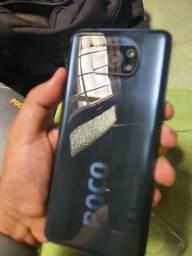 Lançamento!!! Xiaomi Poco X3 + Mi Band 5 lacrada