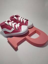 Sapatinho rosa pink RN 13/17