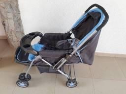 Vendo Carrinho de bebê + bebê conforto + kanguru