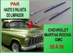 Haste Palheta Limpador Chevrolet 55 À 56 Marta Rocha Gmc Importada