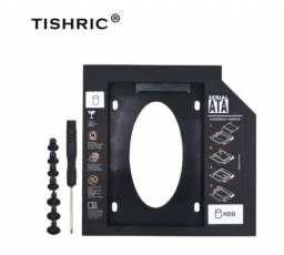 Caddy Tishric para HD/SSD de 2.5pol adaptador SATA para Mini-SATA 9.5mm 6Gb/s