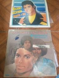 Discos vinil Michael Jackson perfeito estado 50 reais