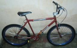 Bicicleta aro 26. reduzido. Toda nas peças boas.
