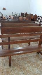 Bancos de madeira R$ 150,00 cada um