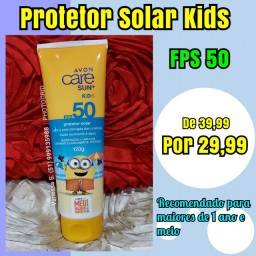 Protetor solar infantil e bebê