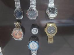 Relógios usados e bem conservados!
